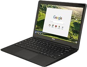 """Dell Chromebook 11 - 3180 Intel Celeron N3060 X2 1.6GHz 4GB 16GB 11.6"""",Black(Scratch and Dent)"""