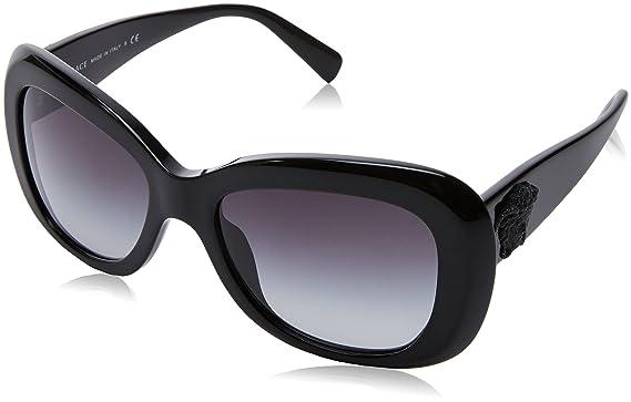 Neue Versace VE 4173 GB1/87 Black 60 Plastic Sonnenbrillen 6Oo5SWVyc