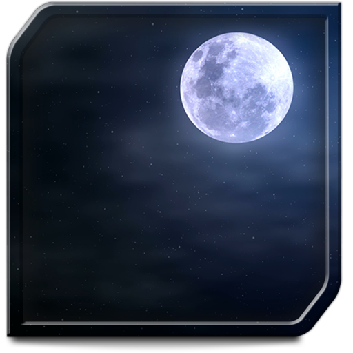 Cloudy Moon HD for TV - Romantic ambiance for your soul-mate