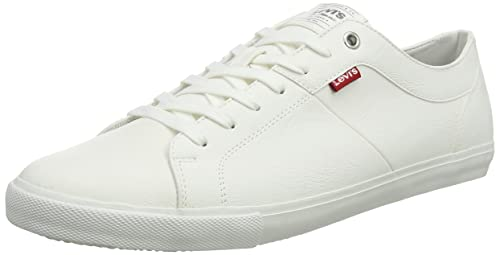 Levis Woods, Zapatillas para Hombre, Blanco (B White 50), ...