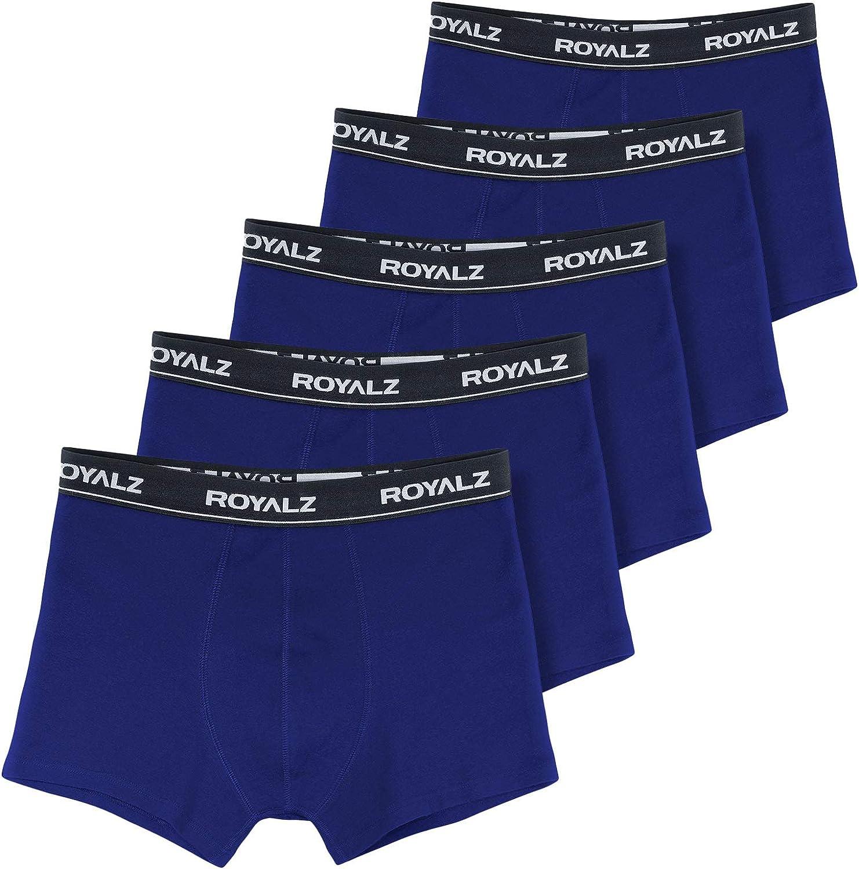 ROYALZ bóxers para Hombre Multipack (Pack de 5) Ropa Interior Calzoncillos Underwear: Amazon.es: Ropa y accesorios