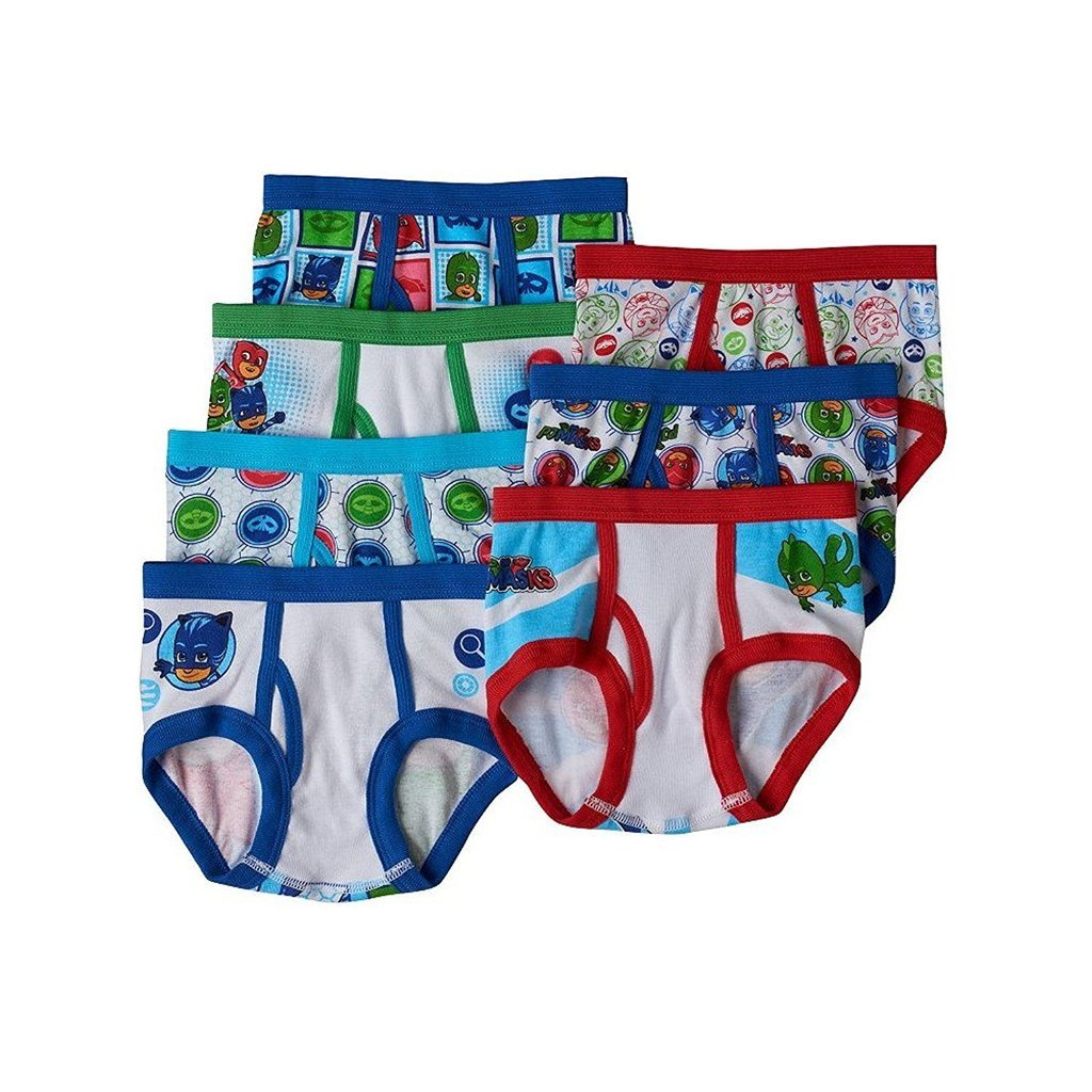 Nick Jr. PJ Masks Gekko, Catboy & Owlette 7-pk. Briefs Toddler Boy