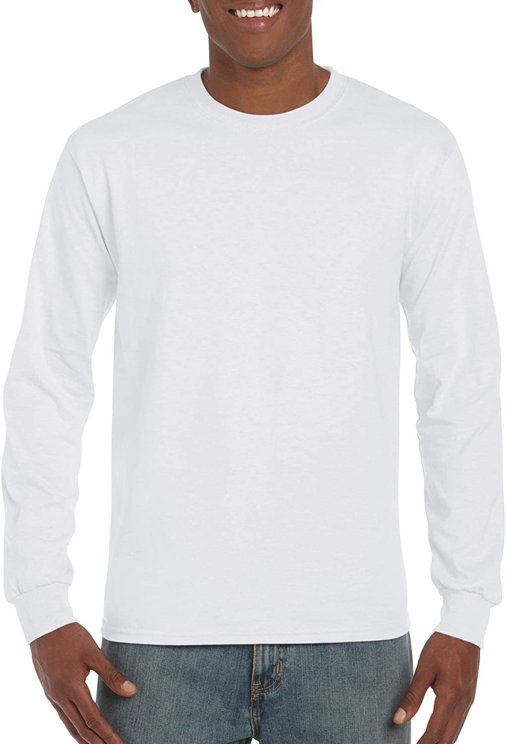 Gildan Men's G2400 Ultra Cotton Jersey Long Sleeve Tee |