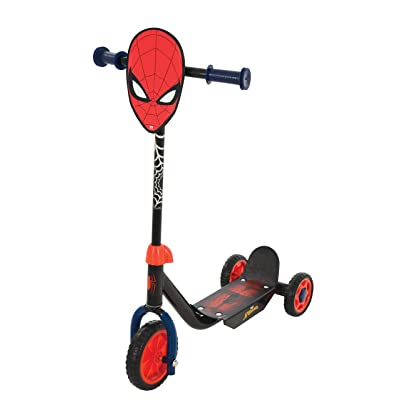 Spider-Man M004008 Tri Scooter, Red: Toys & Games