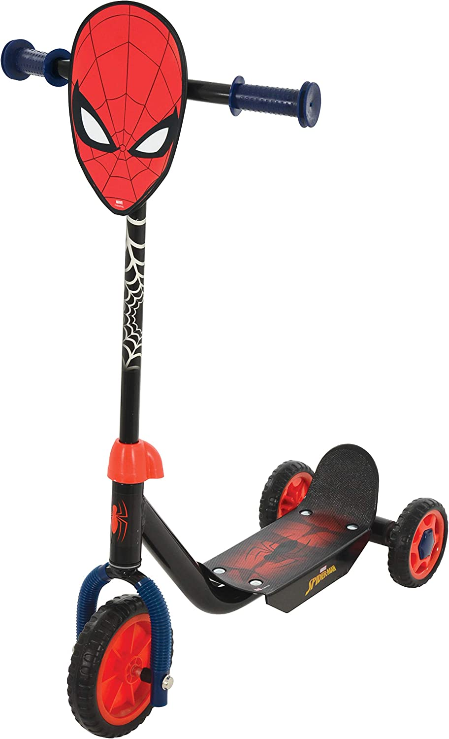 MV Sports Marvel Spiderman Deluxe Tri-Scooter Ages 3 Years