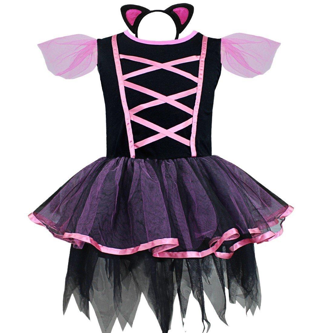 Freebily Disfraz de Carnaval para Niña Vestido Infantil de Fiesta ...