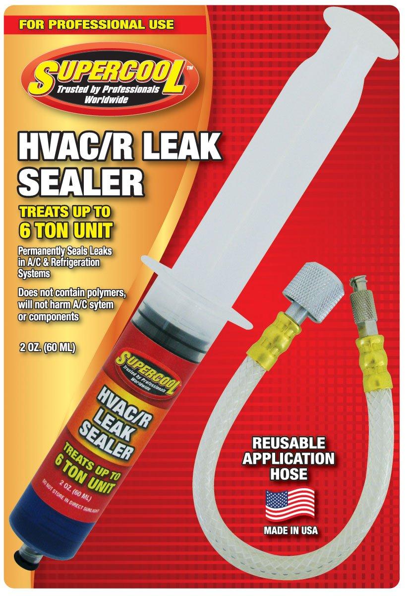 TSI Supercool 28399 Hvac Leak Stop 2-Oz. Syringe (60 ml) with Application Hose, 2. fluid_ounces