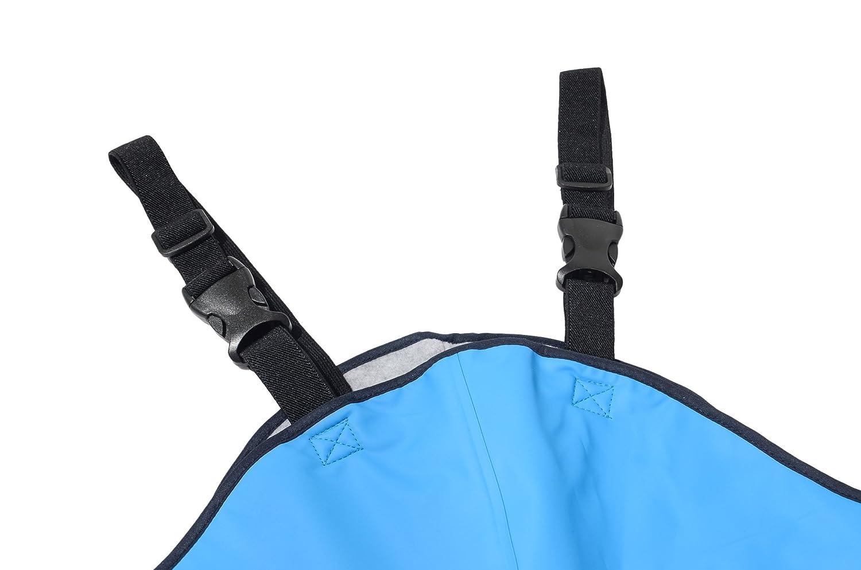 Dry Enfants enfants Imperm/éable Salopette Polaire bord/ée Gar/çons spatule et talon Filles Accessoires de pluie for Outdoor play