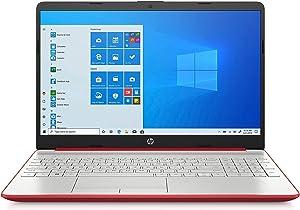 HP 2020 15.6 inches HD LED Display, Intel Pentium Gold 6405U, 4GB DDR4 RAM 500GB HDD, Windows 10 - Scarlet Red (Renewed)