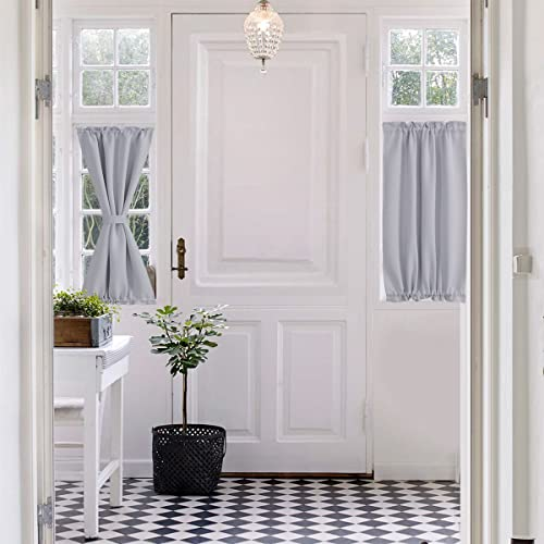 White Kitchen Curtains Small Amazon Com