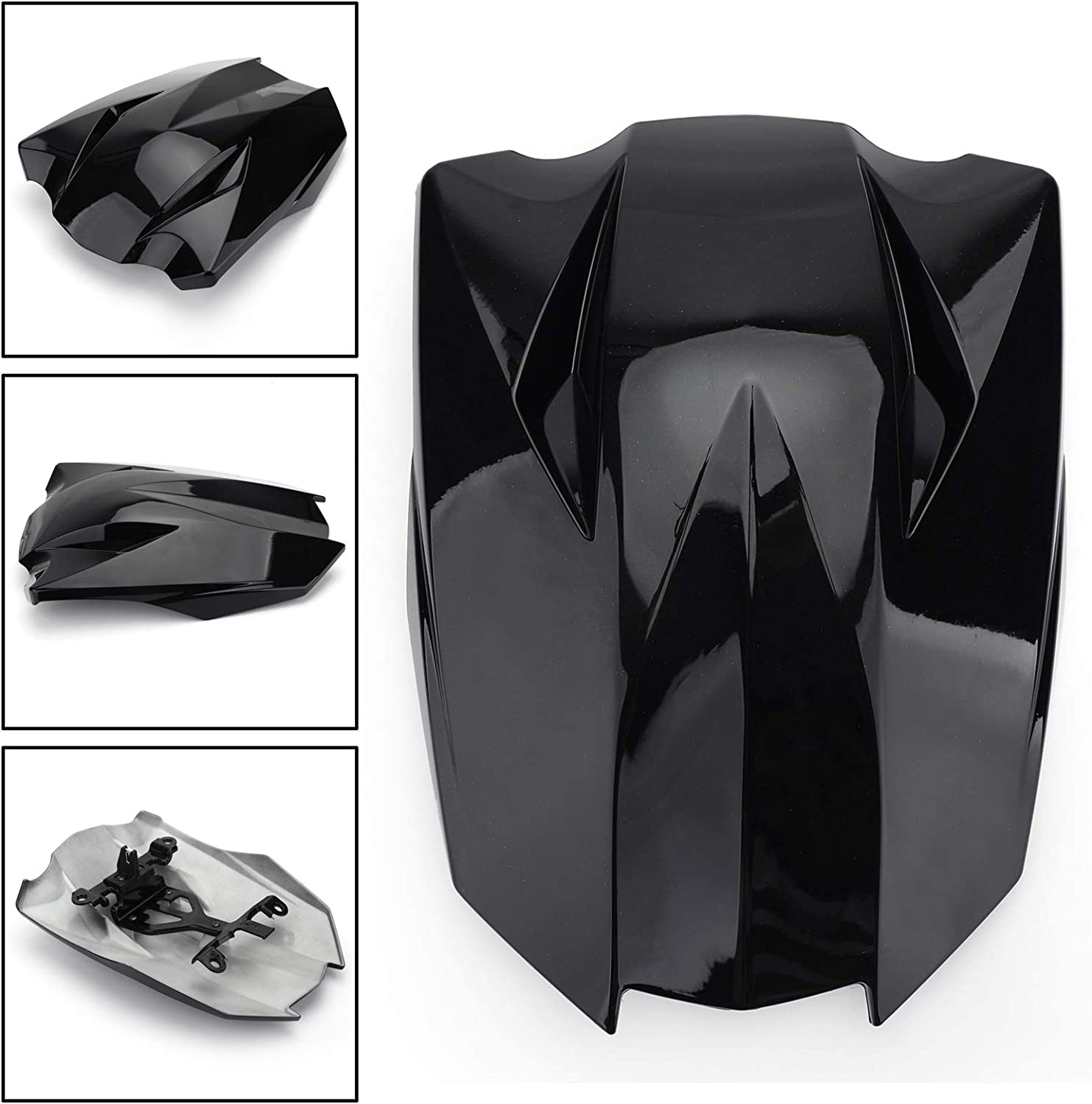 Motorcycle Seat Cowl Fairing Tail Cover for K-A-W-A-S-A-K-I Z1000SX 2010-2016 Artudatech Motorbike Rear Seat Cover Cowl Passenger Pillion