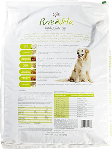 Tuffy S Pet Food 131634 Tuffy Pure Vita Duck And Oatmeal For Dog
