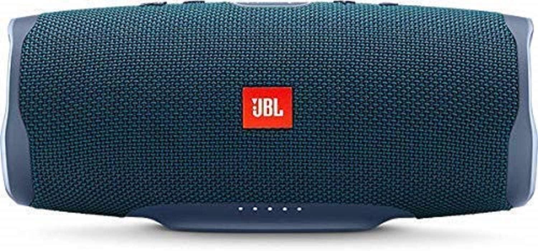 JBL Charge 4 - Altavoz inalámbrico portátil con Bluetooth, resistente al agua (IPX7), JBL Connect+, hasta 20h de reproducción con sonido de alta fidelidad, color azul