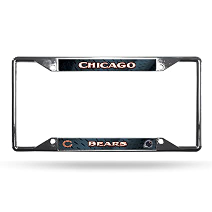Rico Industries NFL Buffalo Bills Chrome Plate Frame,12-Inch by 6-Inch,Silver