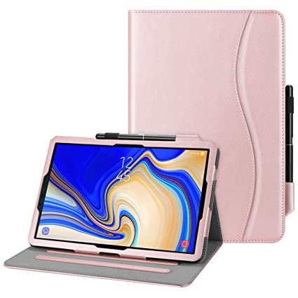 Fintie Case for Samsung Galaxy Tab S4 10 5 2018 Model SM-T830/T835/T837,  Multi-Angle Viewing Stand Cover with S Pen Protective Holder Auto  Sleep/Wake