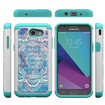 Amazon.com: Funda para Samsung Galaxy J3 Emerge/J3 Prime/J3 ...