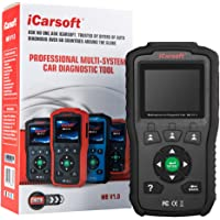 iCarsoft Multi-System Auto Diagnostic Tool MB V1.0 for Mercedes-Benz/Sprinter/Smart with Oil Reset (Black)