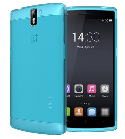 hot sale online 46a1d 925c8 TUDIA LITE TPU Bumper Protective Case for OnePlus One Smartphone (Teal)