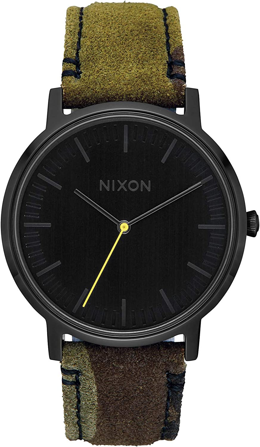 Nixon Porter Leather A1058 50m Water Resistant Men's Watch (20-18mm Leather Band and 40mm Watch Face)