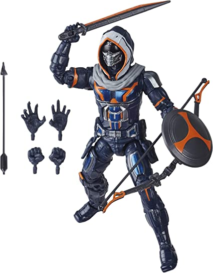 Includes 12 Accessories Ages 4 and Up Marvel Hasbro Black Widow Legends Series 6-inch Collectible Black Widow Action Figure Toy