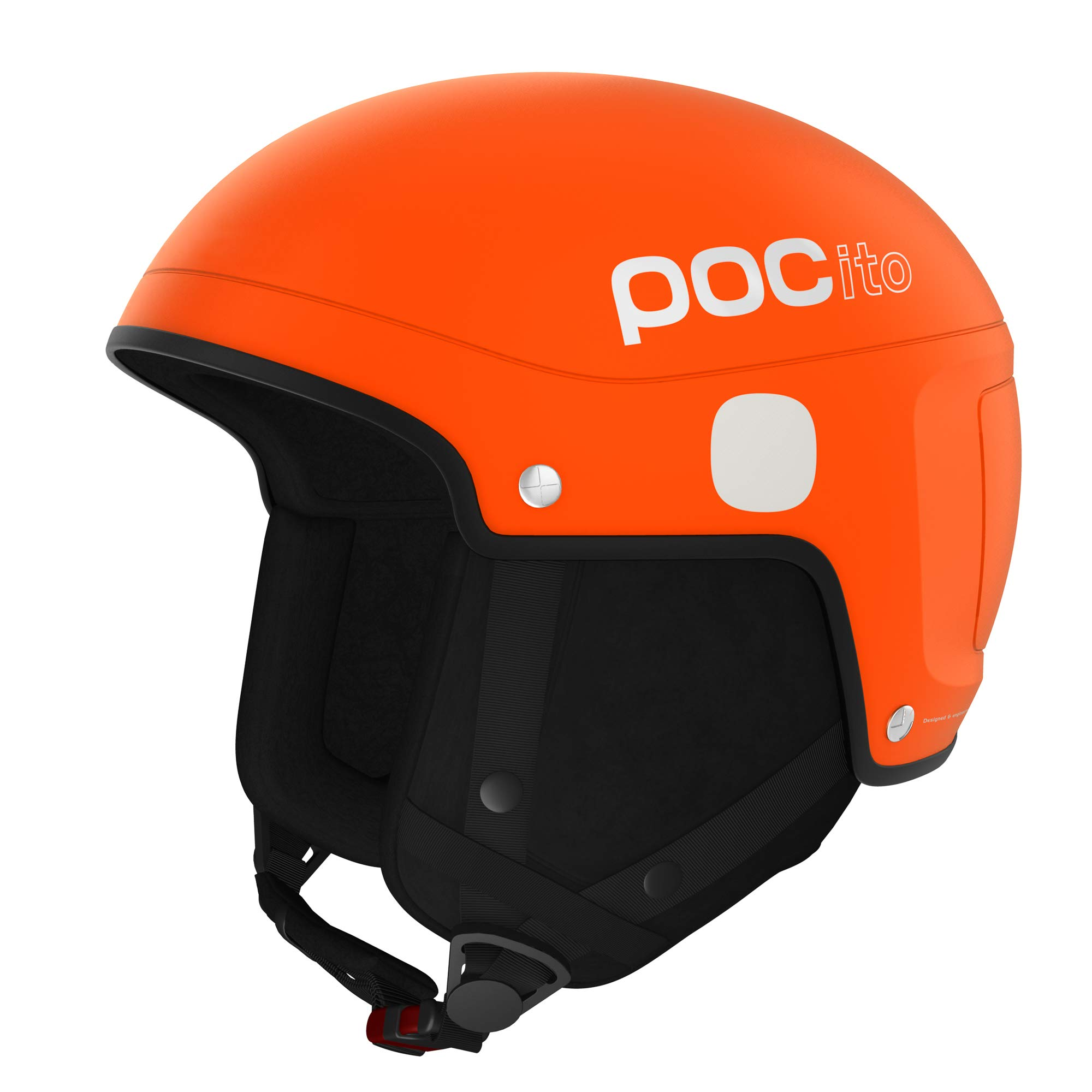 POC POCito Skull Light, Children's Helmet, Fluorescent Orange, M/L