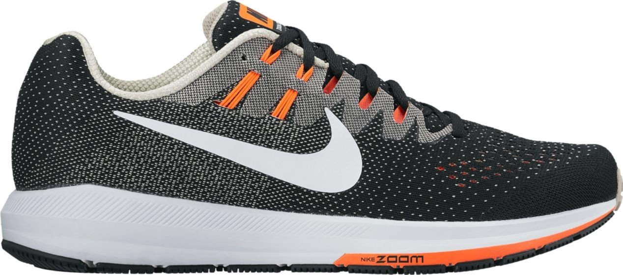 Nike Air Zoom Structure 20, Sneakers para Hombre 7|BLACK/WHITE-MATTE SI