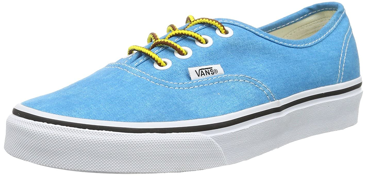 [バンズ] スニーカー Women's AUTHENTIC (Pig Suede) VN0A38EMU5O レディース B00E41WHQ6 Blue ((Washed) 2.5 UK 2.5 UK|Blue ((Washed)