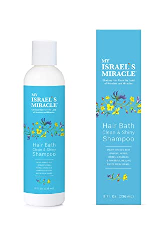 Clean And Shiny >> Herbal Shampoo My Israel S Miracle Clean Shiny Shampoo With Argan Oil Powerful