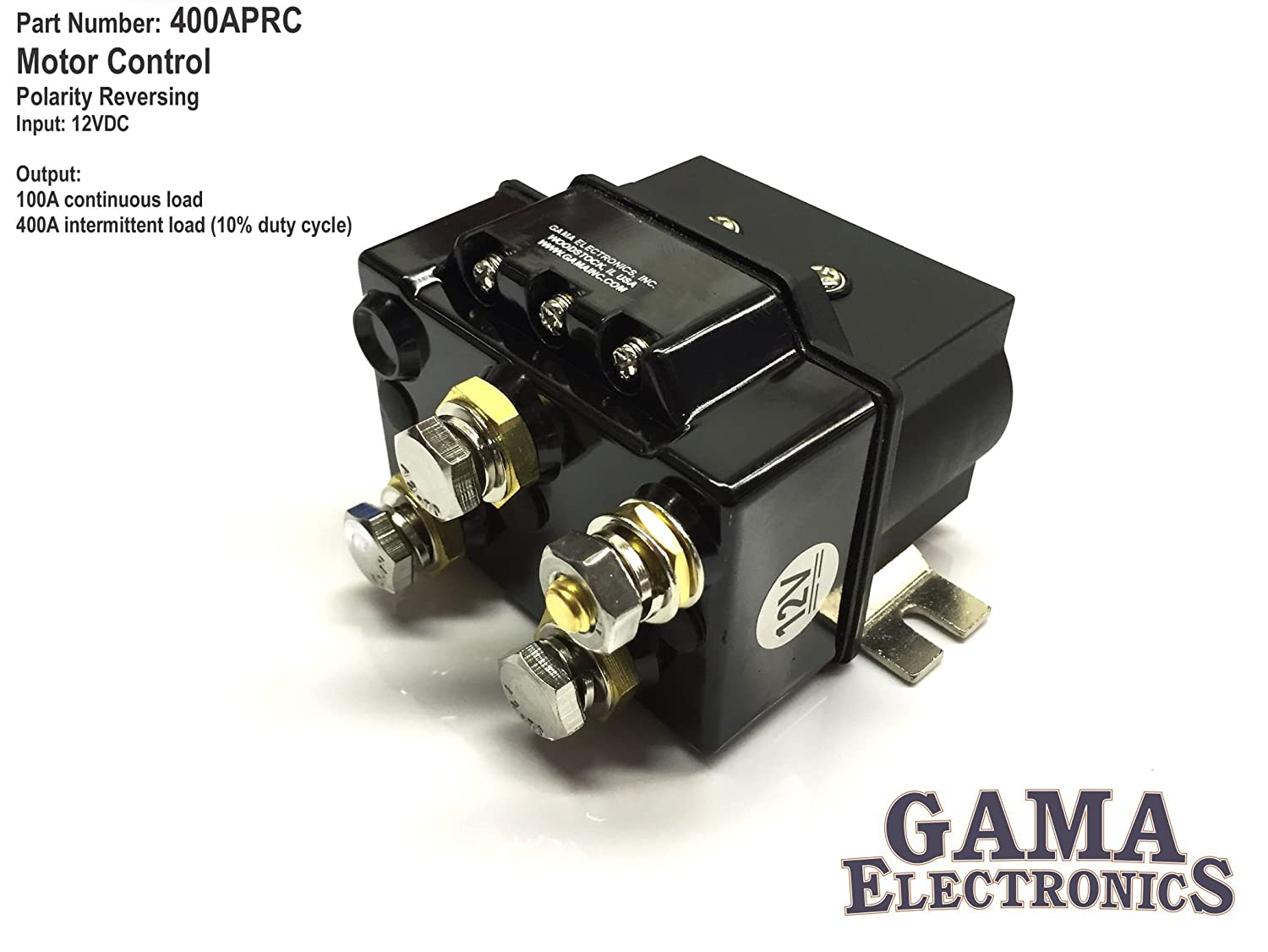 400 100 Amp Reverse Polarity Dc Motor Control Automotive Reversing 12 Volt Rocker Switch Wiring Diagram Free Download