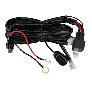71xZ3MgxymL._SY355_ amazon com northpole light led light bar wiring harness, 12v 40a light bar wiring harness from amazon at webbmarketing.co