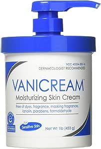 Vanicream Moisturizing Skin Cream with Pump Dispenser, 1 Pound