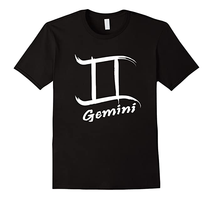 Amazon Gemini Shirt With Painted Zodiac Symbol Clothing