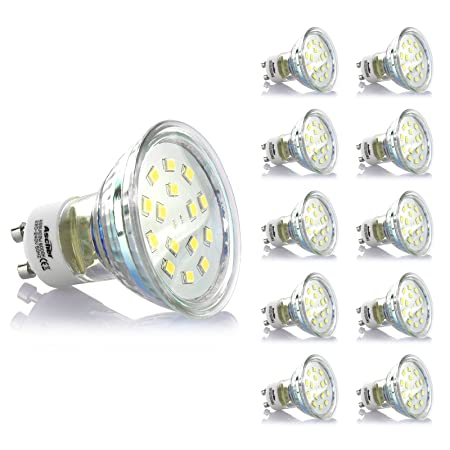 20 Pack of 40W GU10 Dimmable Halogen Spot Light Bulbs Lamps 220-240V