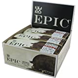 Epic All Natural Meat Bar, 100% Natural, Bacon, 1.5 ounce bar, 12 Count