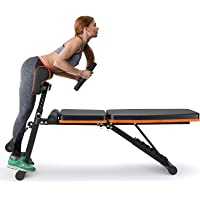 PERLECARE Adjustable Weight Bench for Full Body Workout - All-in-One Durable Exercise Bench Holds up to 772 lbs…
