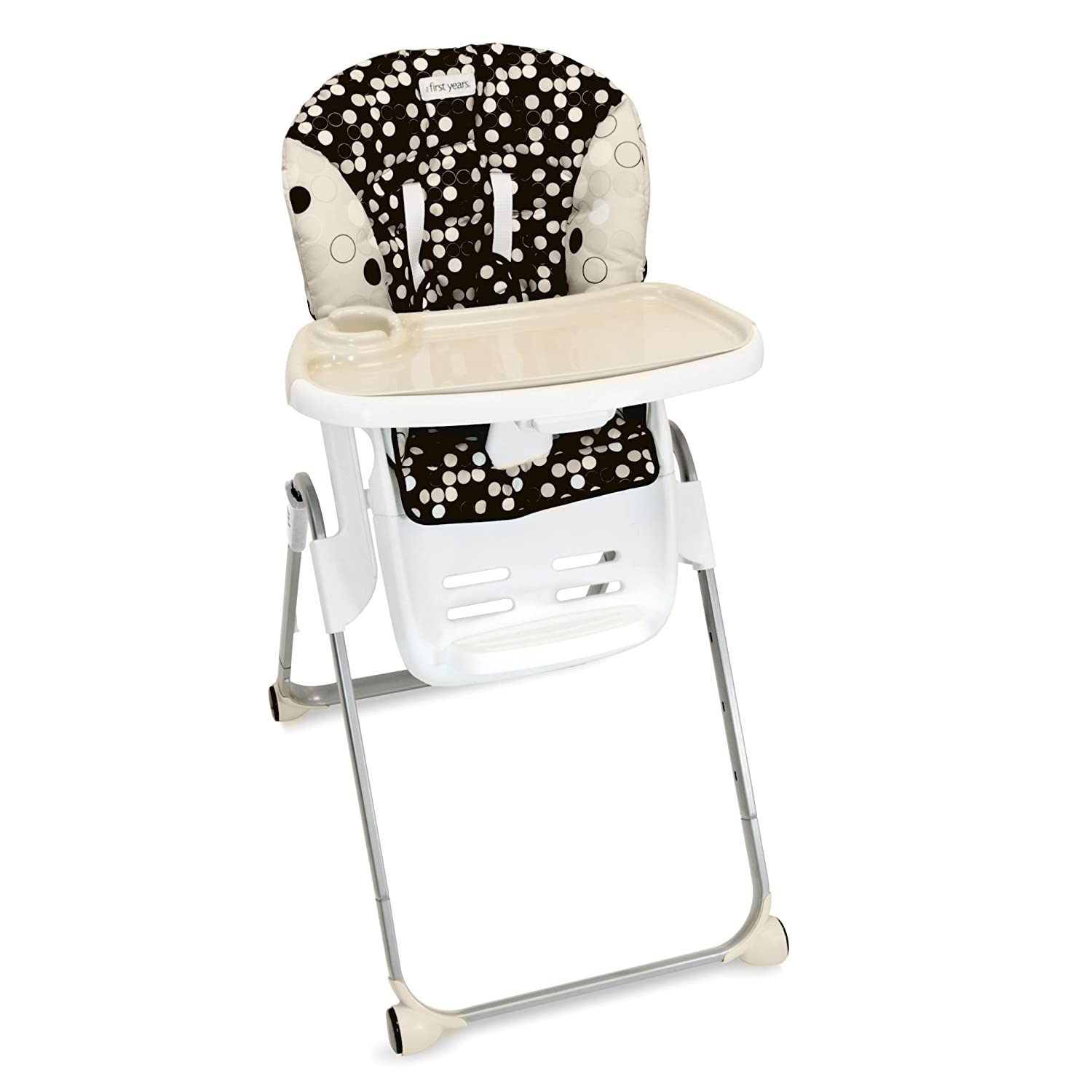 amazon com the first years family time high chair black and