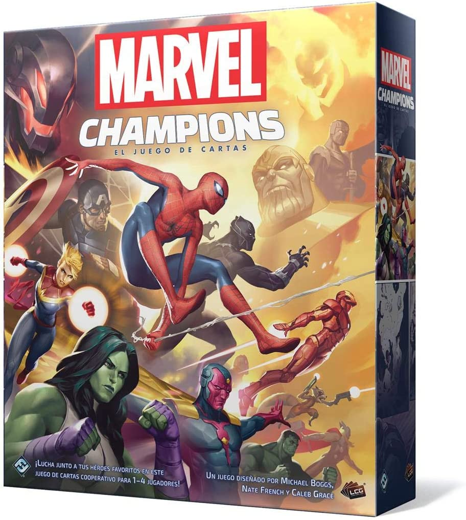Fantasy Flight Games - Marvel Champions: Das Kartenspiel Color (MC01ES)