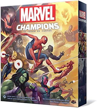 Oferta amazon: Fantasy Flight Games-Marvel Champions: El juego de cartas, color mc01es , color/modelo surtido