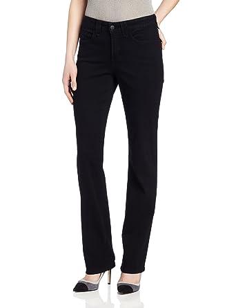 28c74eeb3f8 Amazon.com  NYDJ Women s Petite Hayden Straight-Leg Jean  Clothing