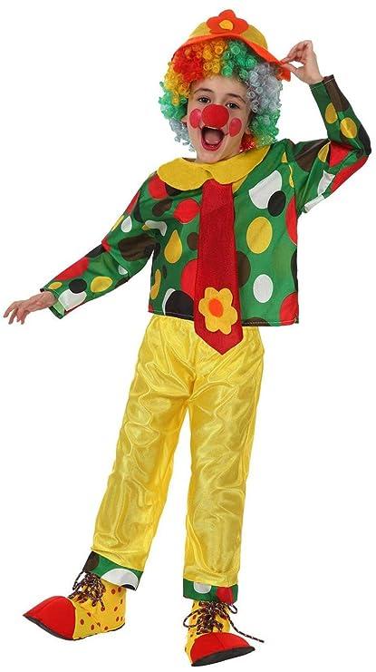 Desconocido Disfraz de payaso para niño o niña: Amazon.es ...
