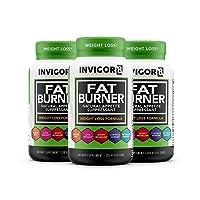 INVIGOR8 Fat Burner and Natural Appetite Suppressant – Healthy Weight Loss Formula...