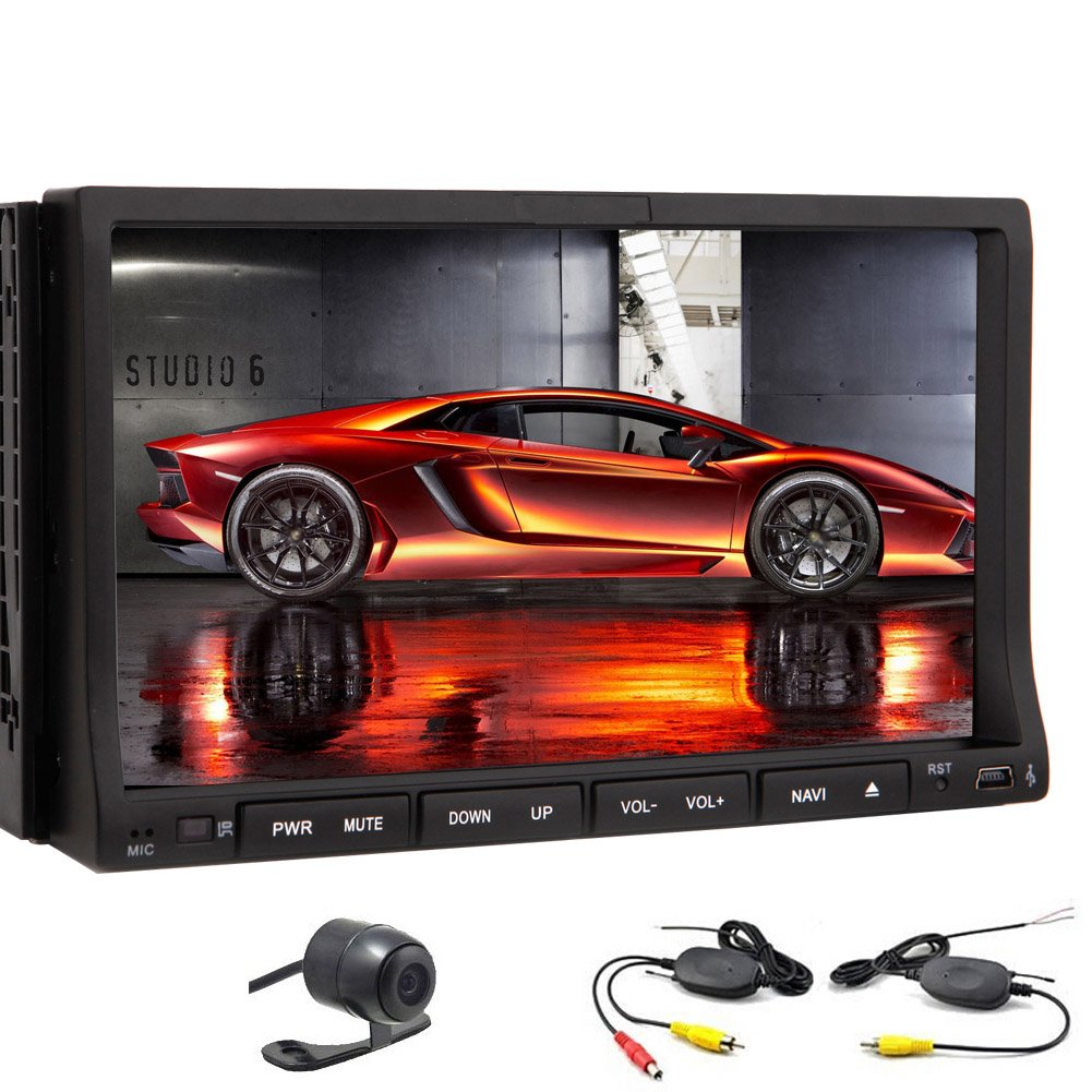 Amazon.com: 7 inch 2 DIN Universal Android 4.2 Car Stereo ...