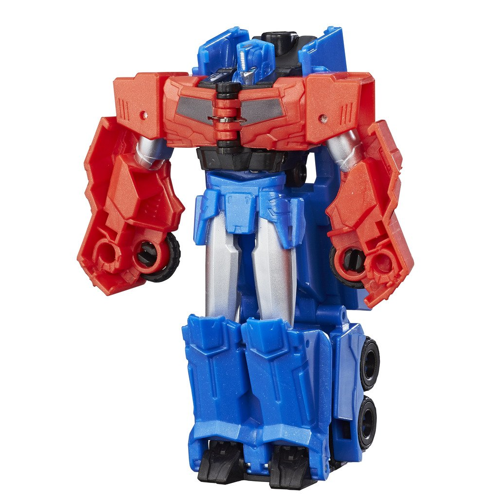 Hasbro Transformers C0648ES0 - Robots In Disguise 1-Step Changers Optimus Prime, Actionfigur