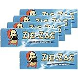 柘製作所(tsuge) ジグザグ ブルーシングル 【スローバーニング ・ 50枚入り】 #78832 ×5パック