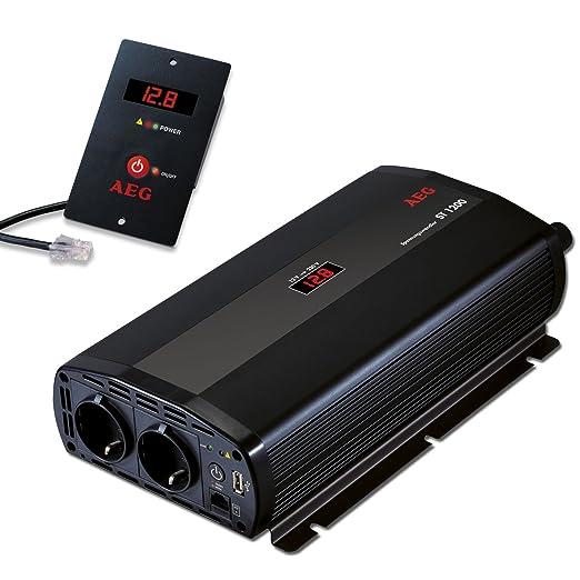 3 opinioni per AEG 97117 Trasformatore di tensione ST 1200 Watt, 12 Volt a 230 Volt, con