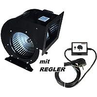 2000m³/h Ventilador industrial con 500W Regulador de Velocidat