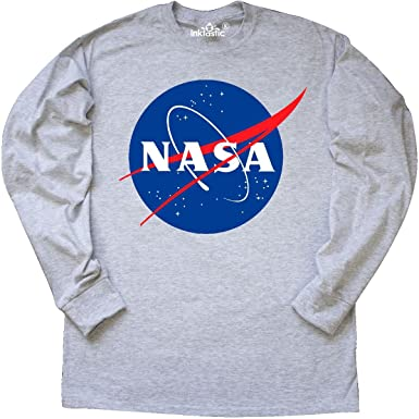 Amazon.com: Inktastic - NASA Logo Long Sleeve T-Shirt: Clothing