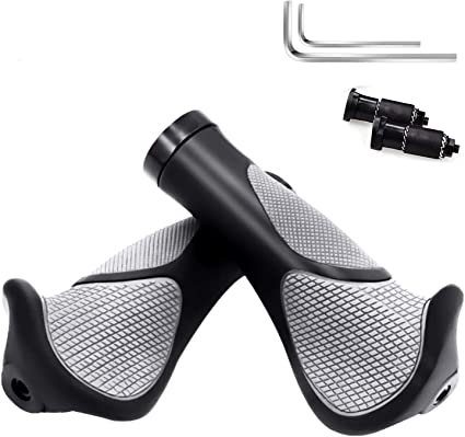 Fahrrad Lenkergriffe aus Rutschfestem Gummigriffe Fahrradgriffe MTB Bike Grip DE