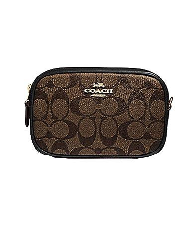 COACH CONVERTIBLE BELT BAG IN SIGNATURE CANVAS (F39657)  Handbags   Amazon.com