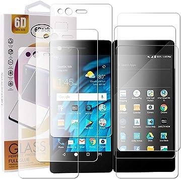 Guran 3 Paquete Protector de Pantalla para ZTE Axon M Smartphone ...